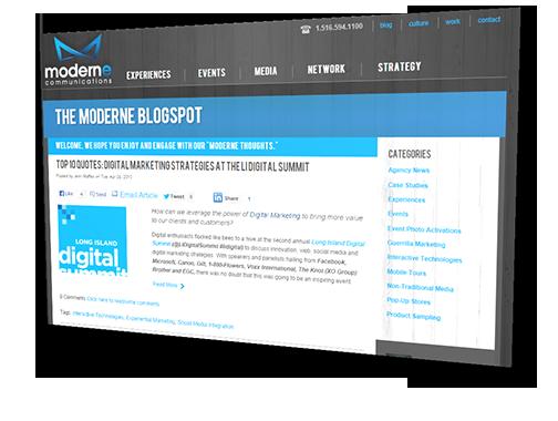 moderne blogspot blog